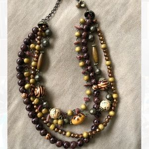 Premier Designs multi-strand necklace